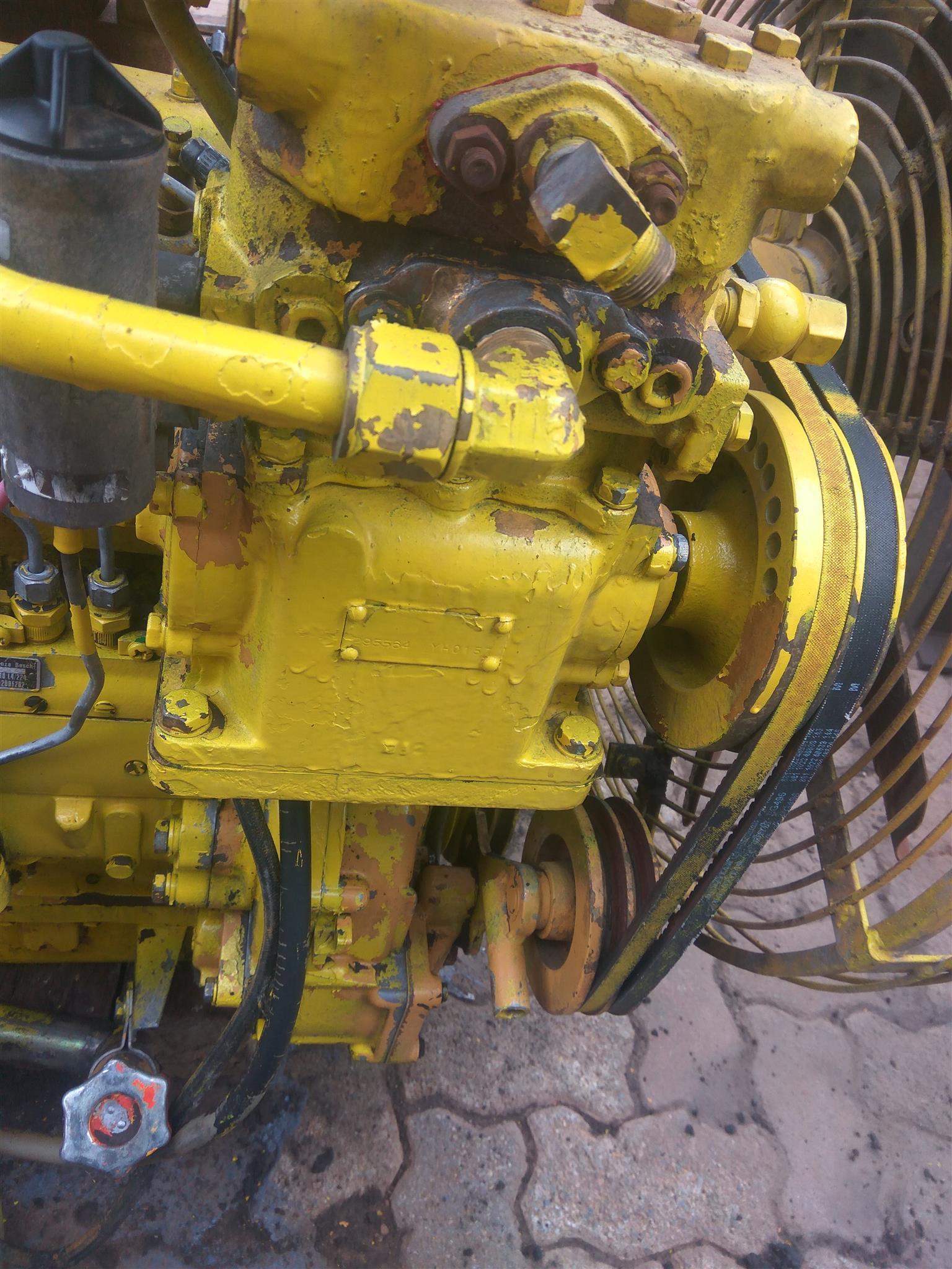 Fiat straight 6 Diesel Turbo motor for sale
