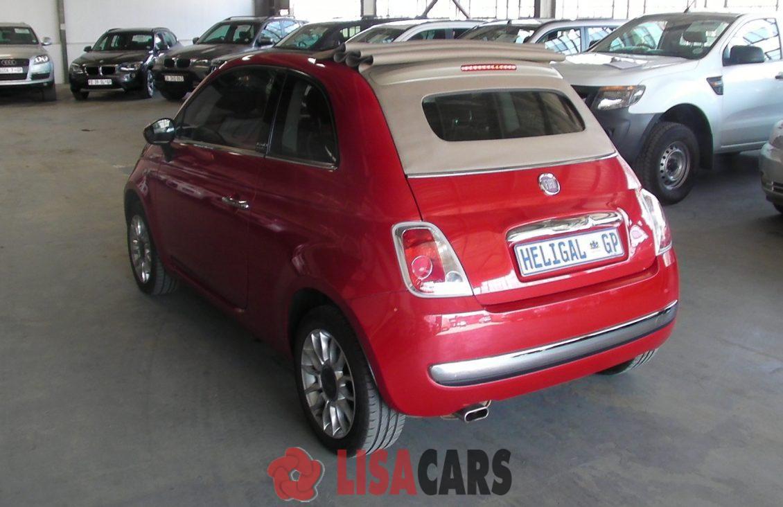 2012 Fiat 500 S cabriolet 1.4