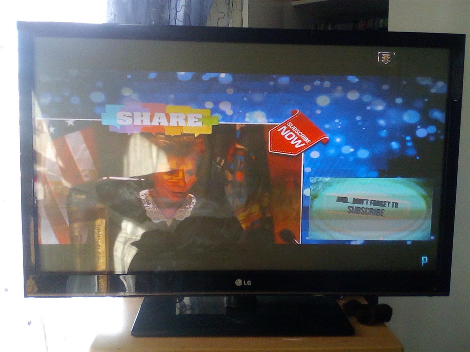 47inch HD LG smart flat screen tv - R4500(!!PENDING!!)pickup