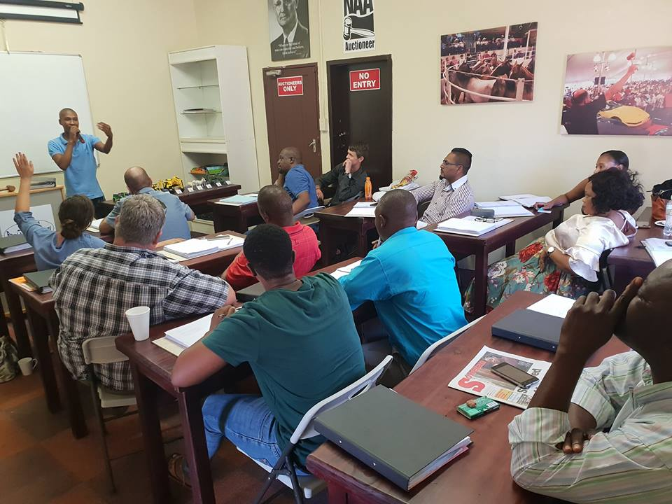 Auctioneer Training School