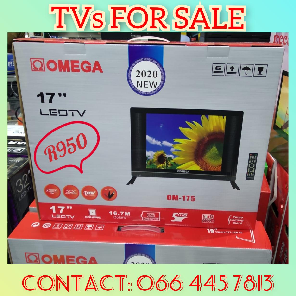 17 INCH LED TV OMEGA FOR SALE