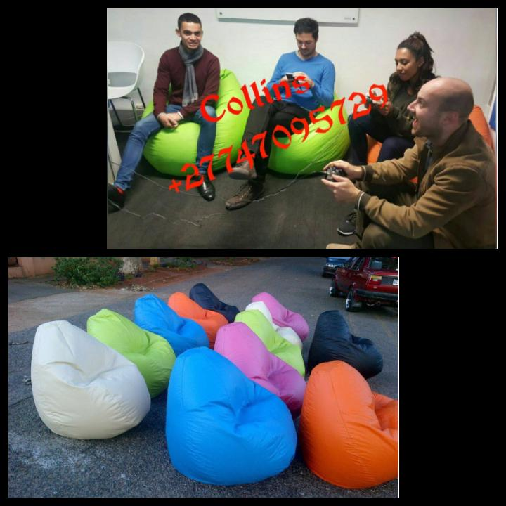 Beautiful STANDARD BEAN BAGS 4 UR SCHOOL,LIVING ROOM,OFFICE ETC.IN A CHEAP PRICES,place UR order NOW