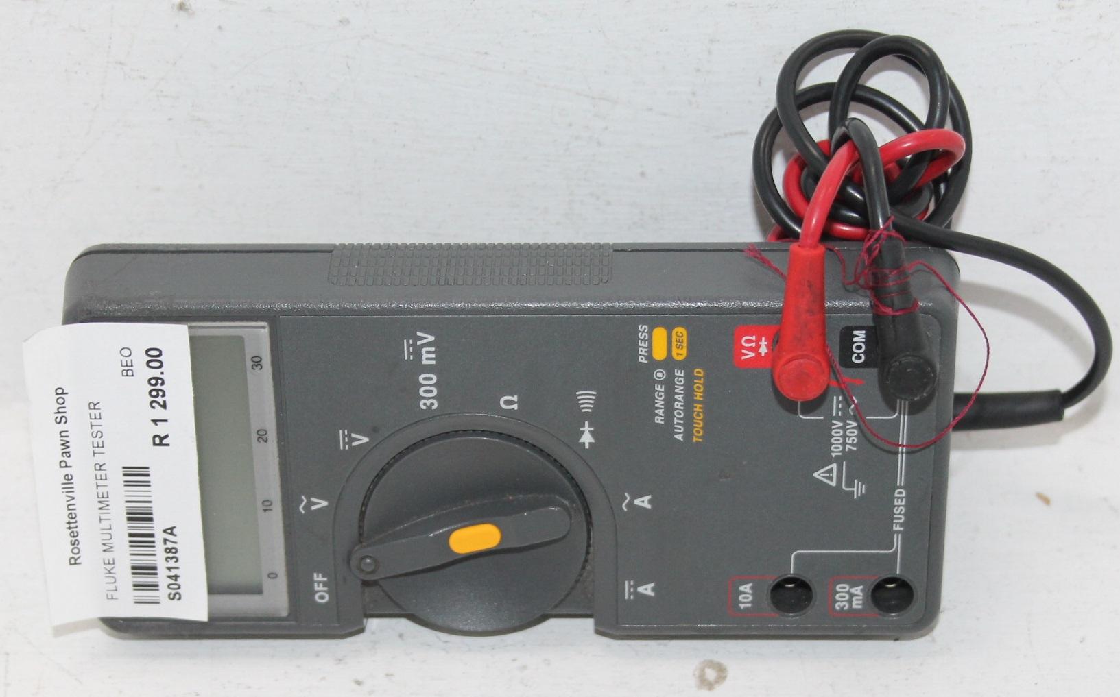 Fluke multimeter tester S041387A #Rosettenvillepawnshop