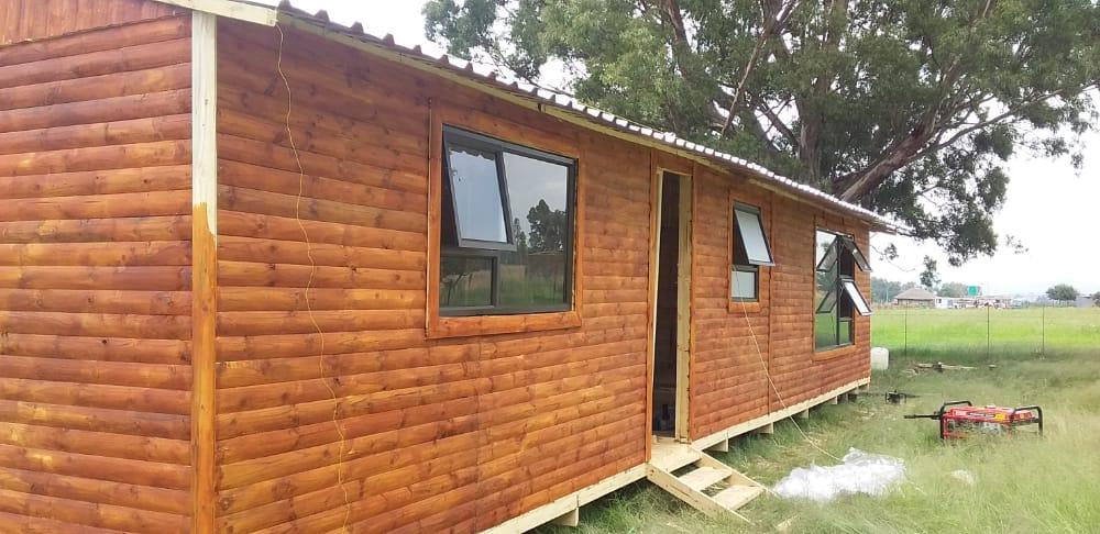 Log Home Wendys