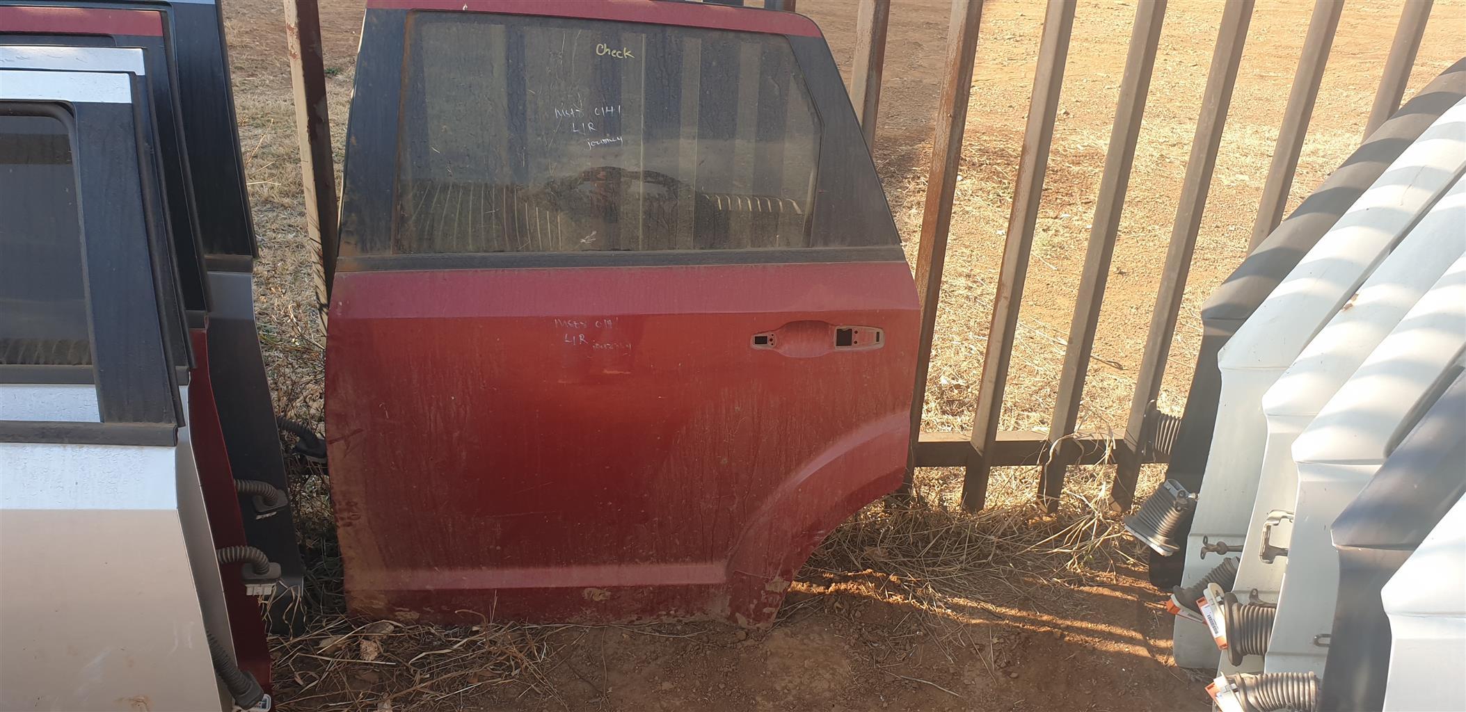 Dodge Journey Rear doors