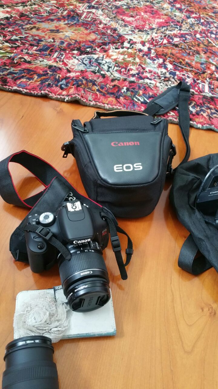 Canon EOS Rebel T3i (D600) Digital SLR Camera (with extra Sigma 70-300 Lens)