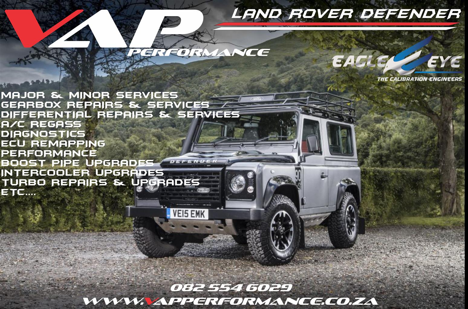 Land Rover Defender ECU Remapping / ECU Tuning / Performance