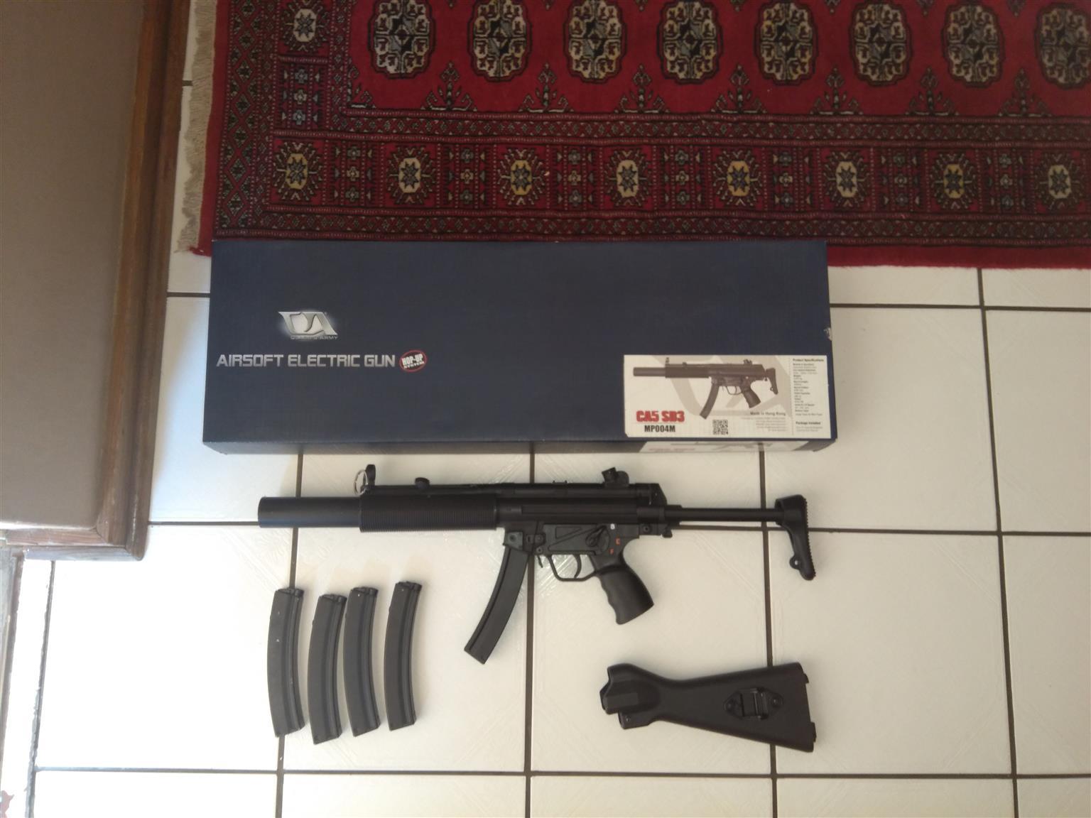 Airsoft gun CA MP5SD electric