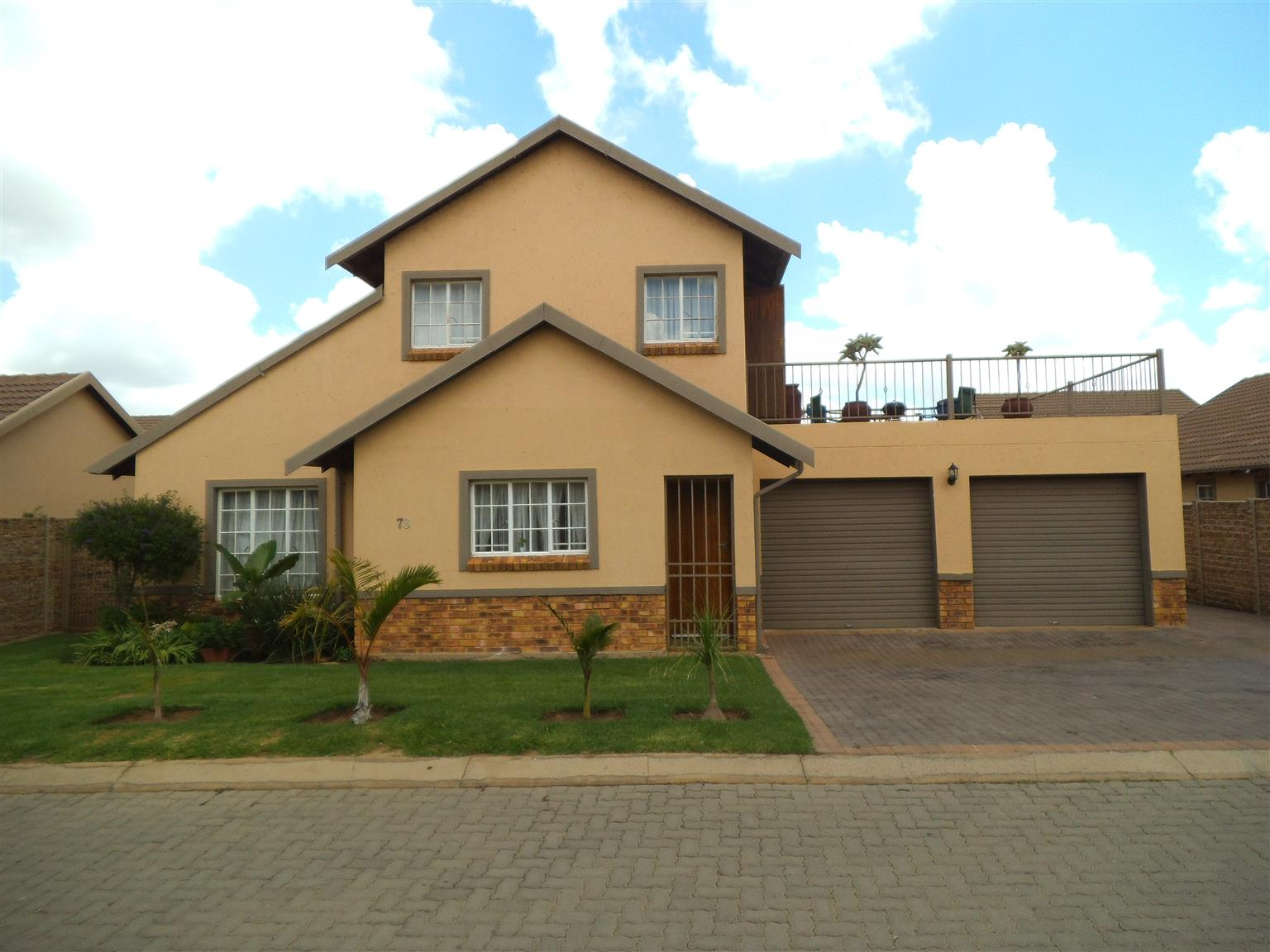 4 Bedroom house in security complex