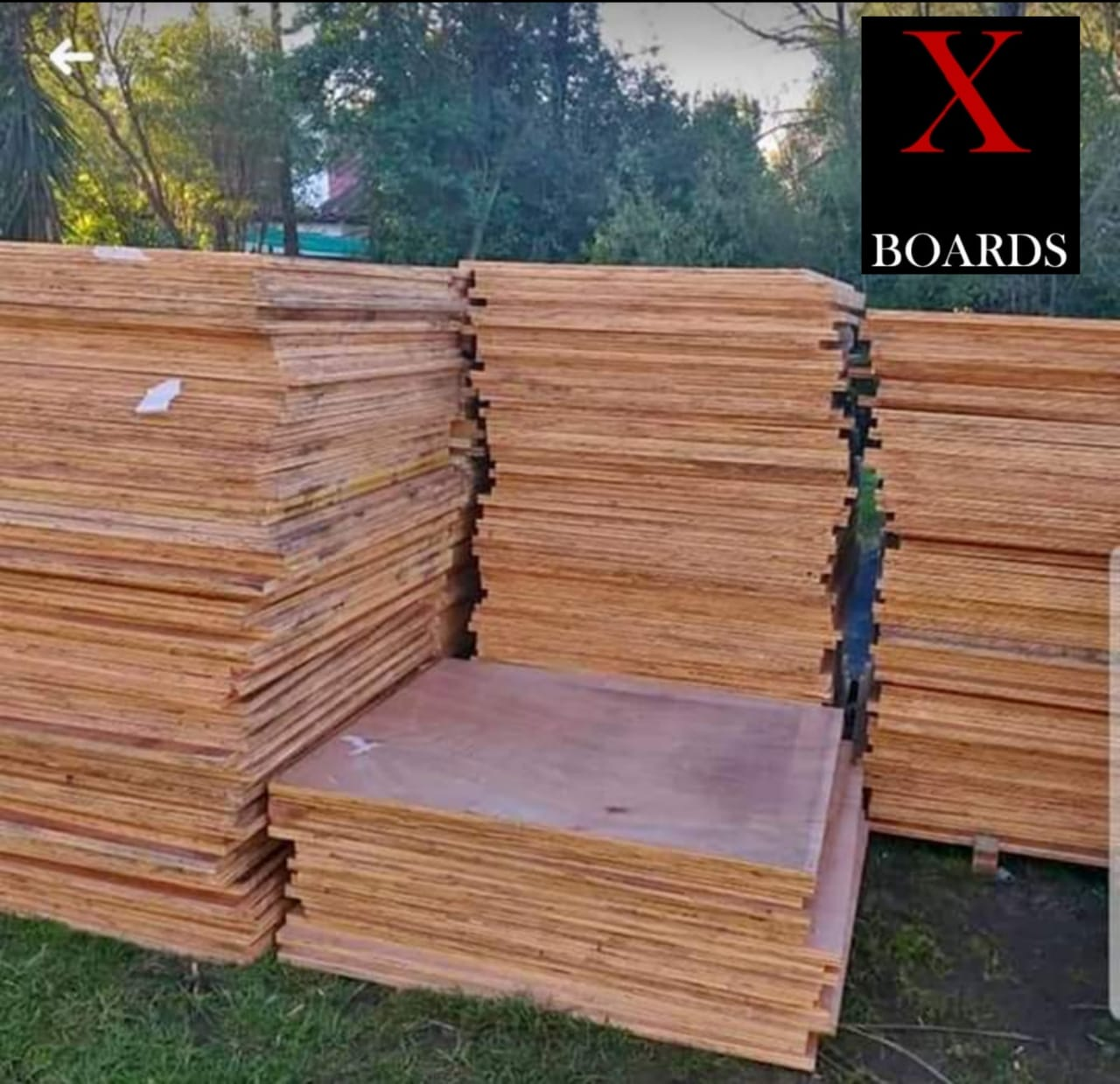 Marineply plywood boards
