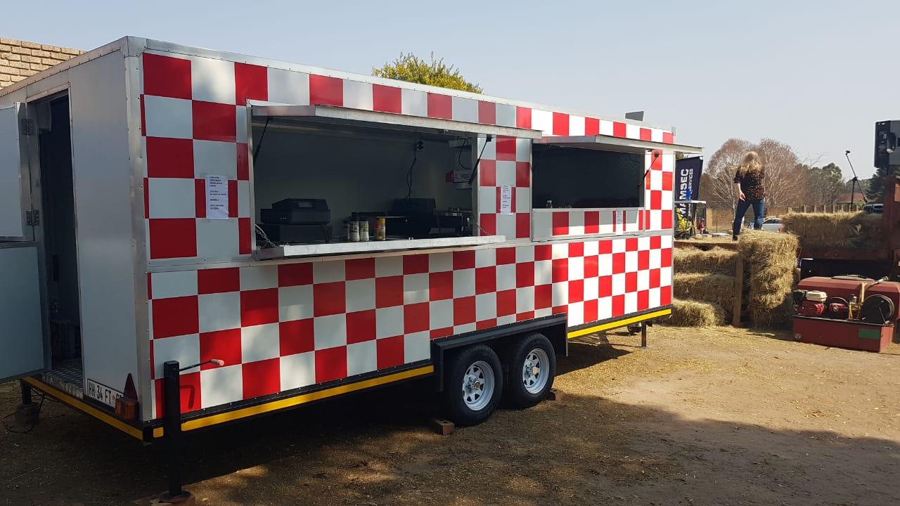 Food trailers, Mobile Kiosk, Mobile Toilet