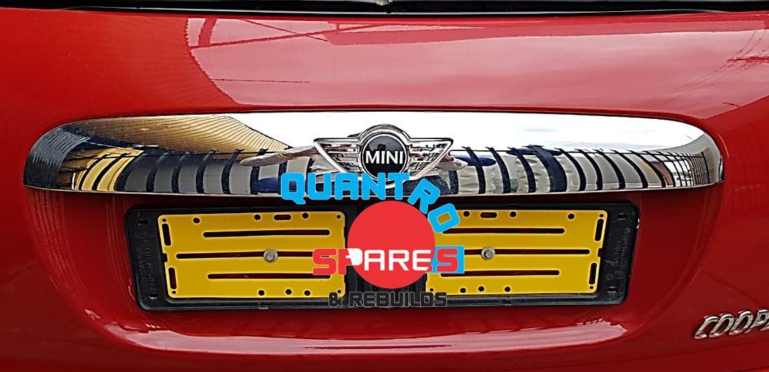 mini cooper f57 2016 boot badge for sale