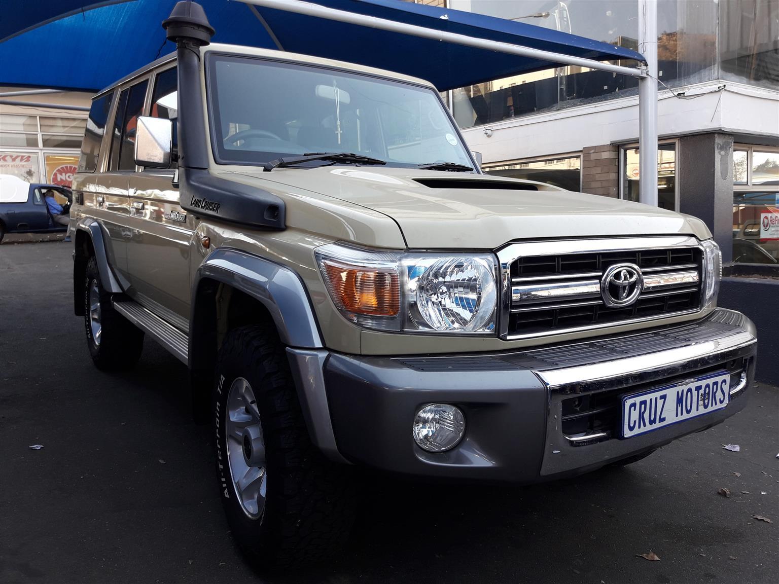 2014 Toyota Land Cruiser 100 4.5 GX   Junk Mail