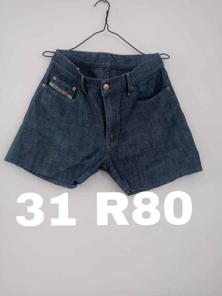 Dark blue denim shorts for sale