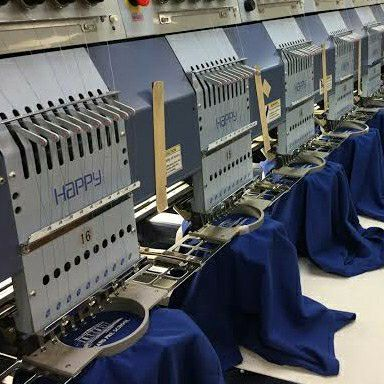 Embroidery and screen printing