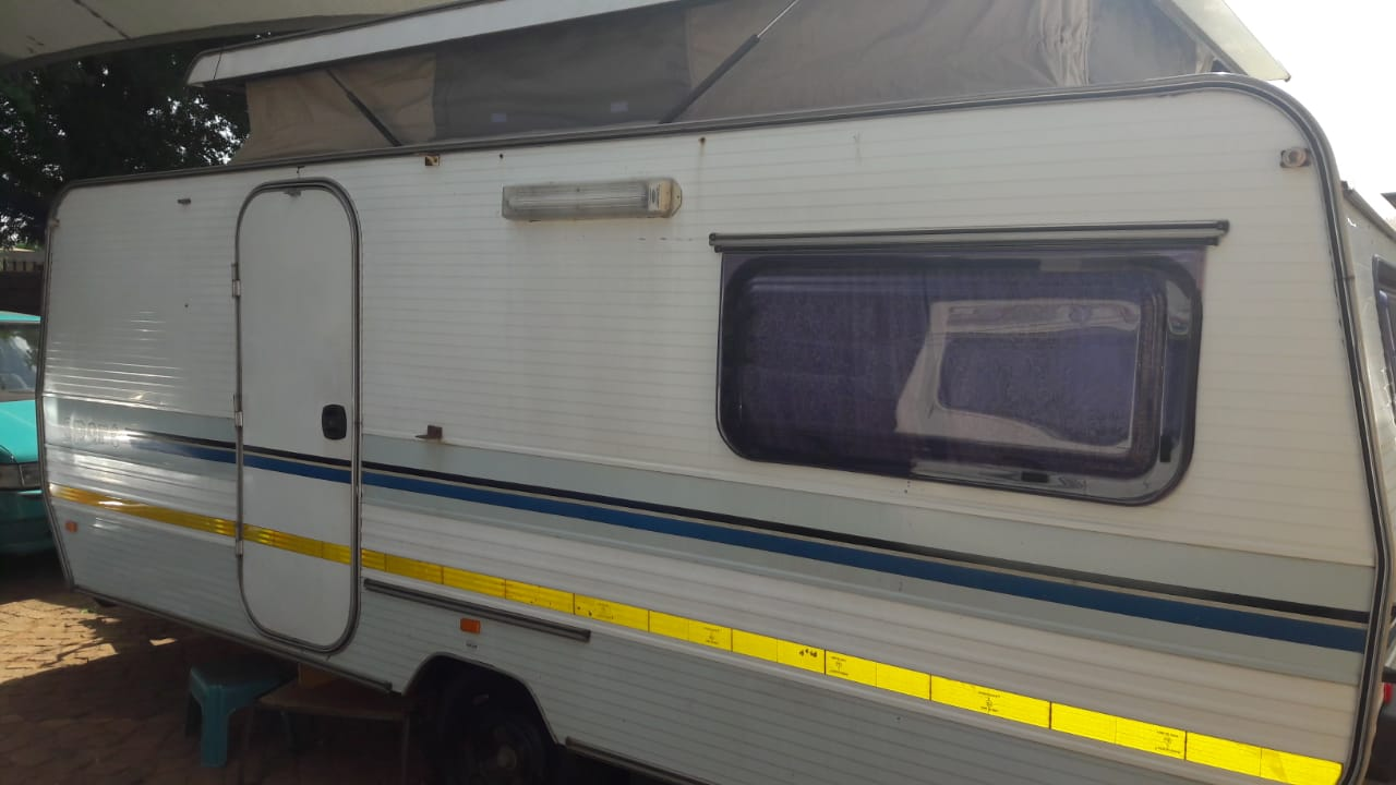 sprite sport with full tent and big fridge and freezer in excellent condition must be seen