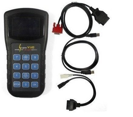 Super VAG BLACK 4.8 K+CAN Security Code/Key Coding OBD2 Diagnostic Tool