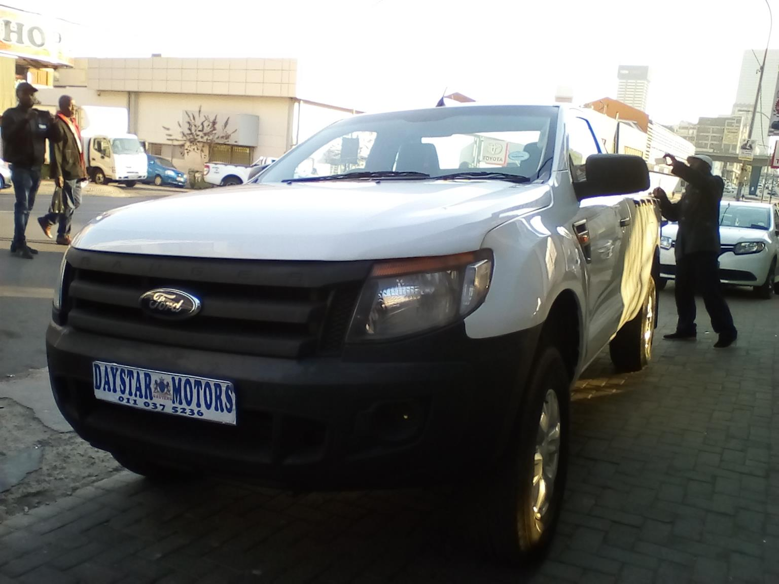 2015 Ford Ranger single cab RANGER 2.2TDCi XL A/T P/U S/C