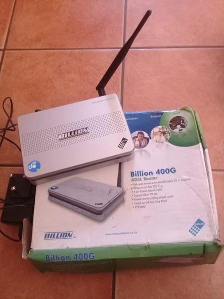 Billion Router for sale