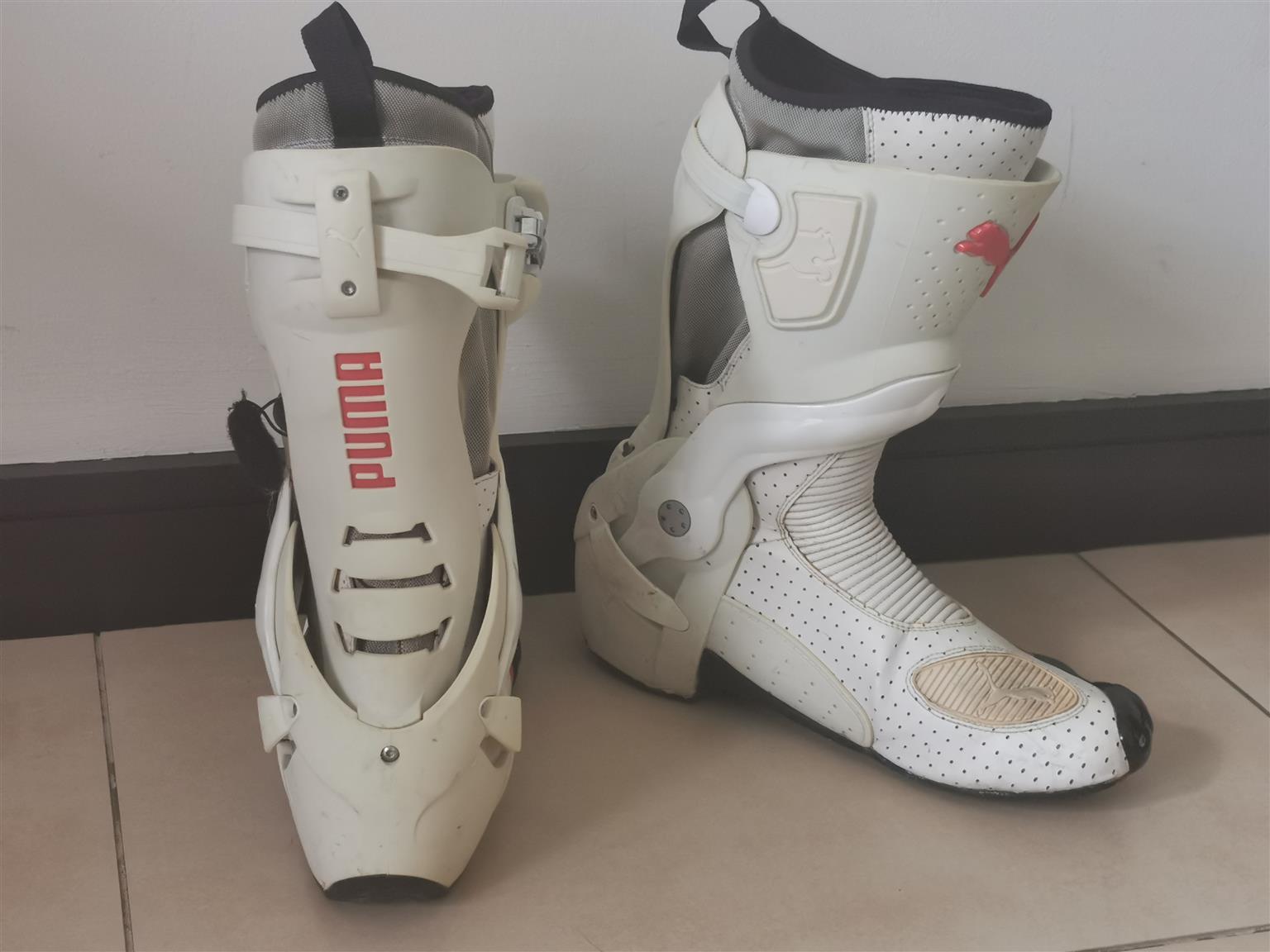 Puma Biker Boots (Size 10)