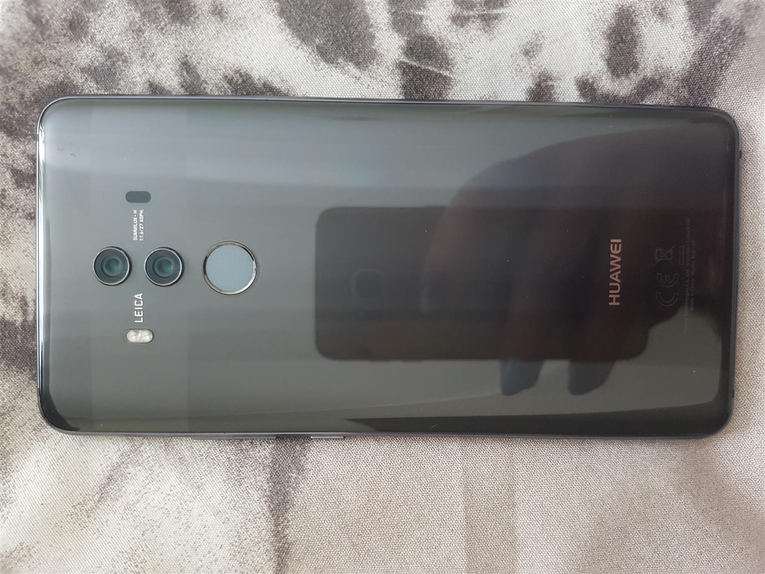 Huawei mate 10pro 129Gb for swop or sale
