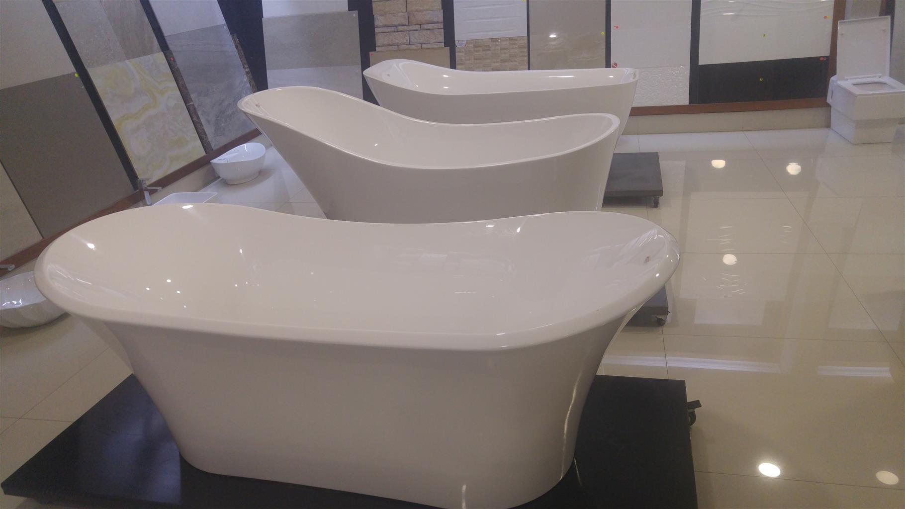 FREE STANDING BATH TUBES,JACUZZI AND BASINS.