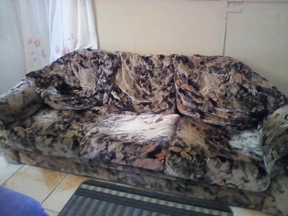 3 Seater colored couch for sale