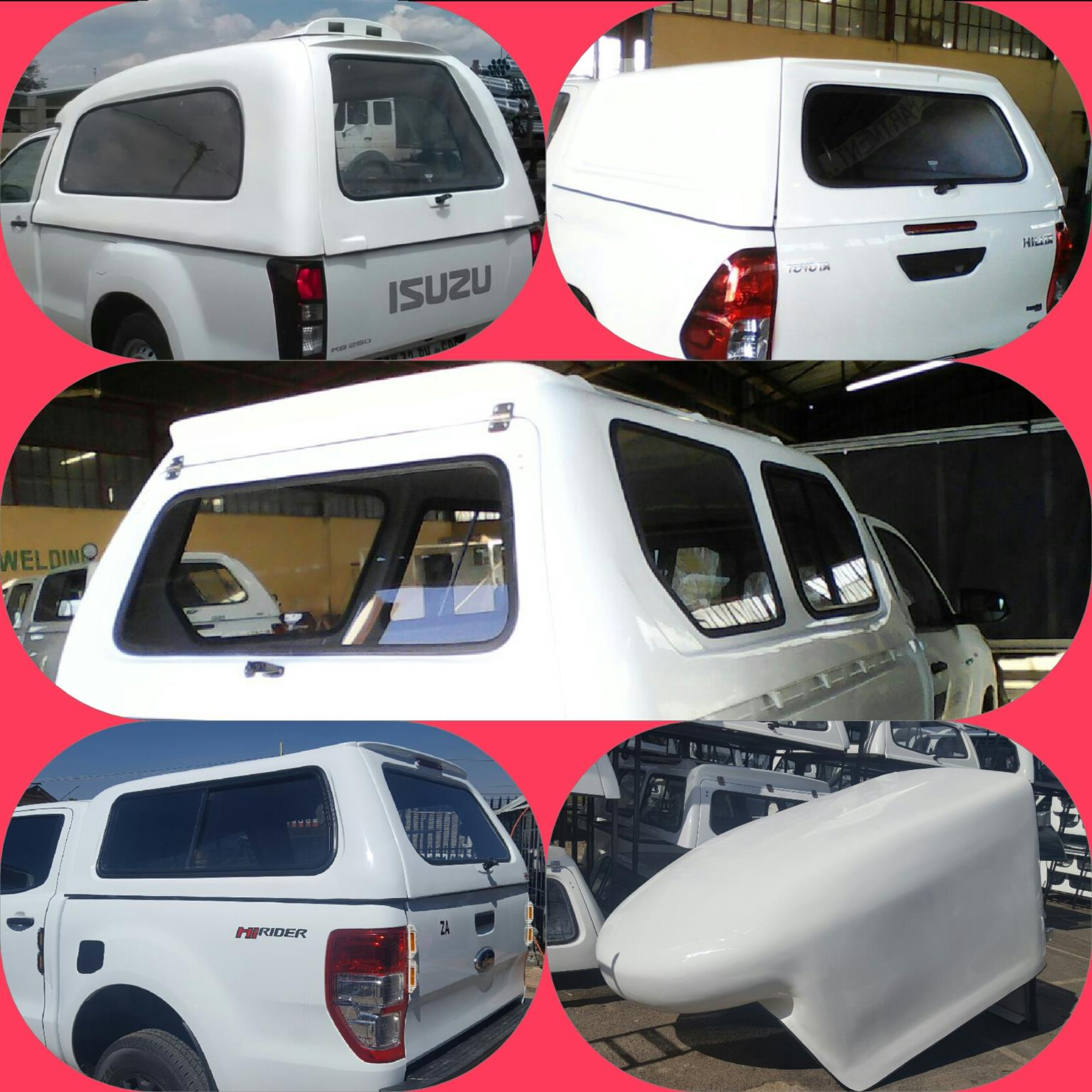 """WE HAVE """"CRAZY BAKKIE CANOPY SPECIALS""""- CONTACT US FOR MORE DETAILS ON: 011 955 4067"""