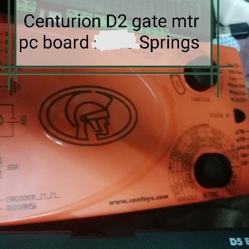 Centurion D5 Evo and D2 gate mtr pc boards