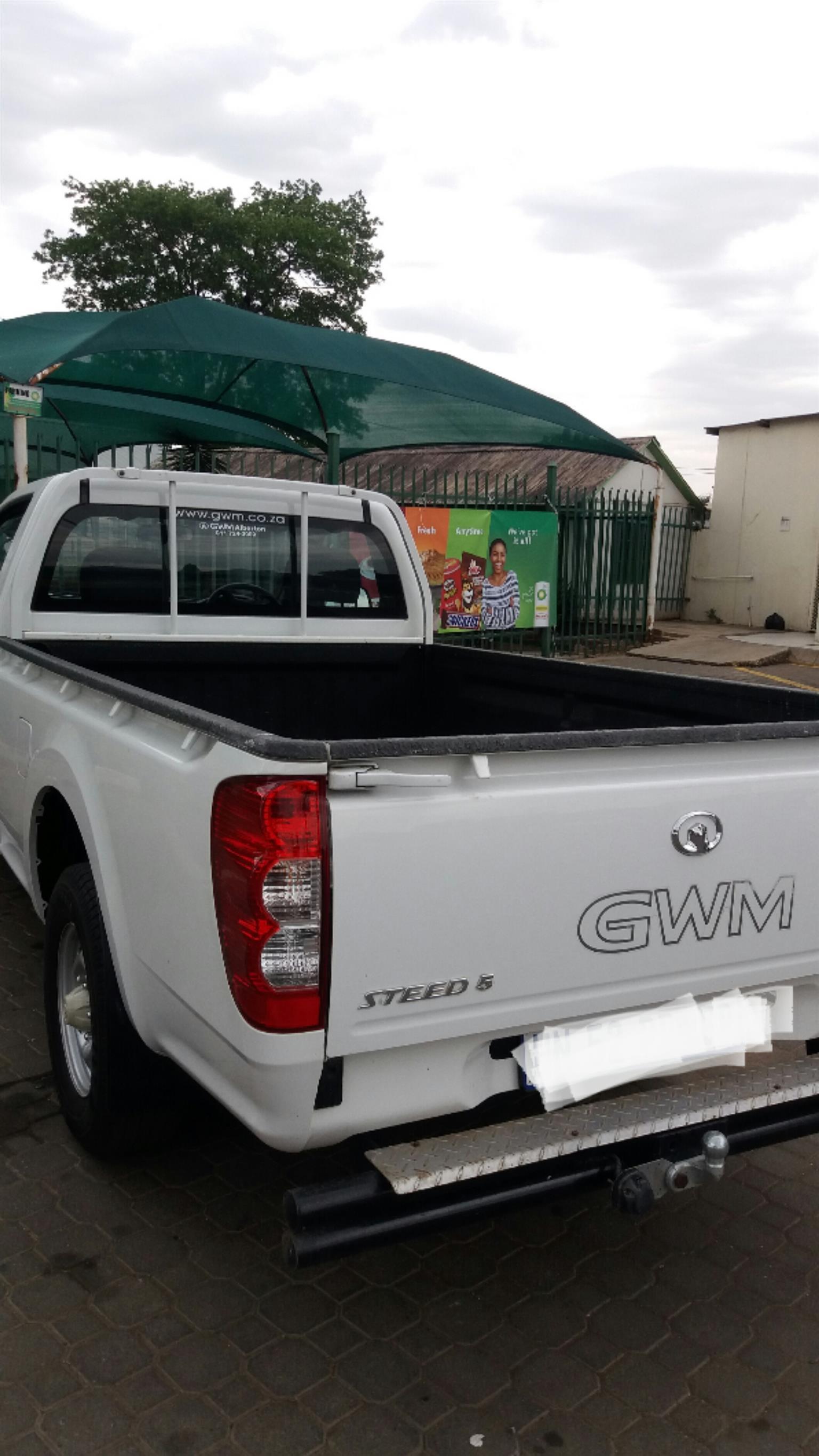 2016 GWM Steed 5 single cab STEED 5 2.2 MPi WORKHORSE P/U S/C