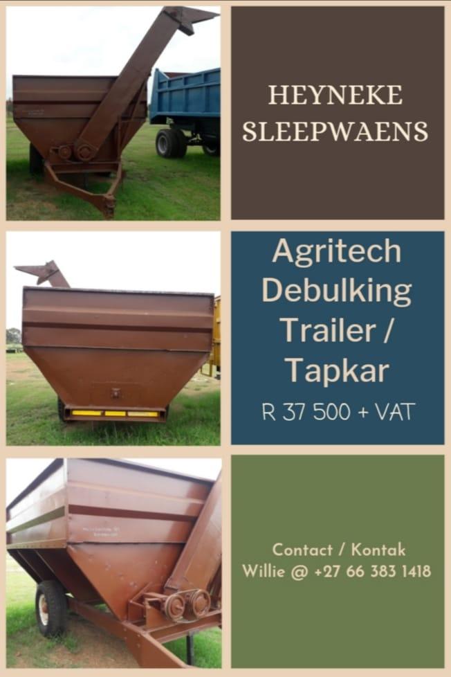 AGRITECH DEBULKING TRAILER / TAPKAR