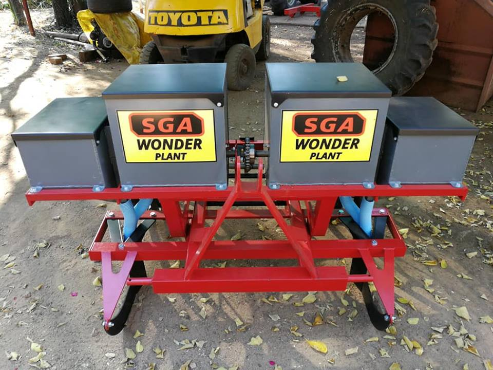 SGA 2 Row planter