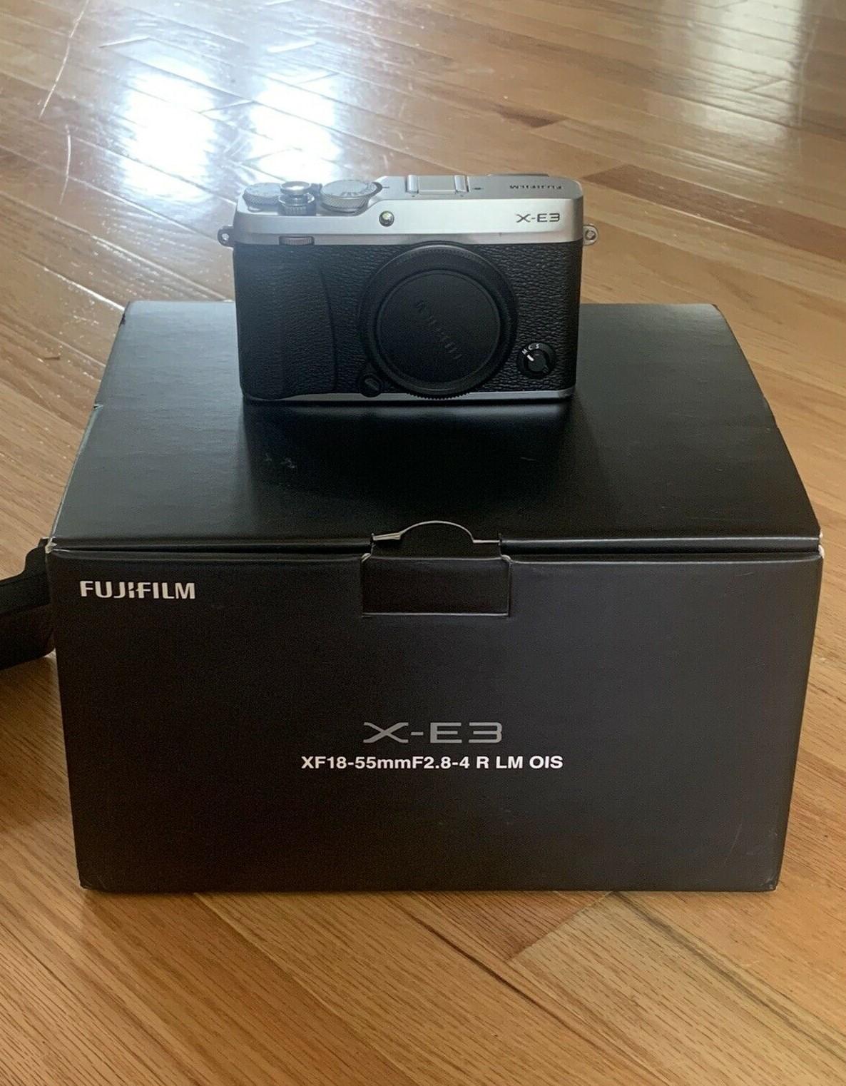 Fujifilm X-E3 24.3 MP Mirrorless Camera