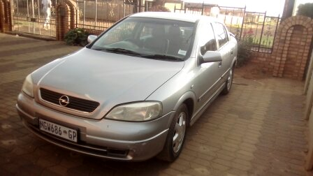 2003 Opel Astra hatch ASTRA 1.6T SPORT PLUS (5DR)