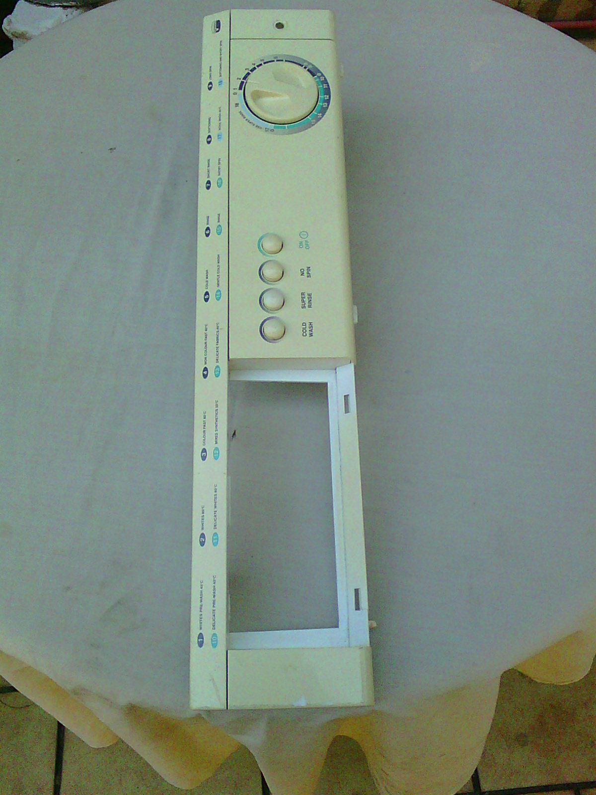 DEFY AUTOMAID automatic washing machine control panel