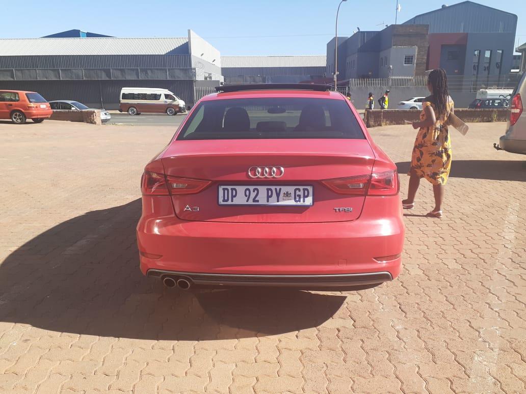 2015 Audi A3 sedan 2.0TFSI S line auto