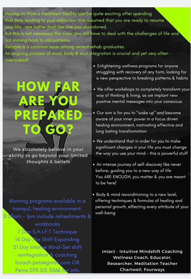 Recovery coaching programs