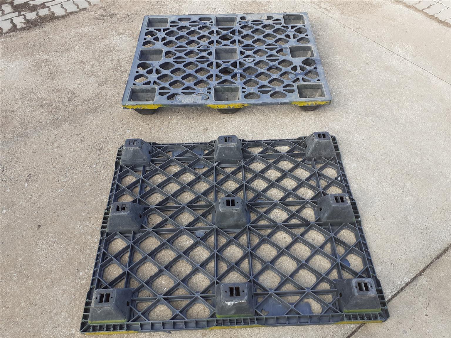 Plastic pallets standard size – 1200×1000