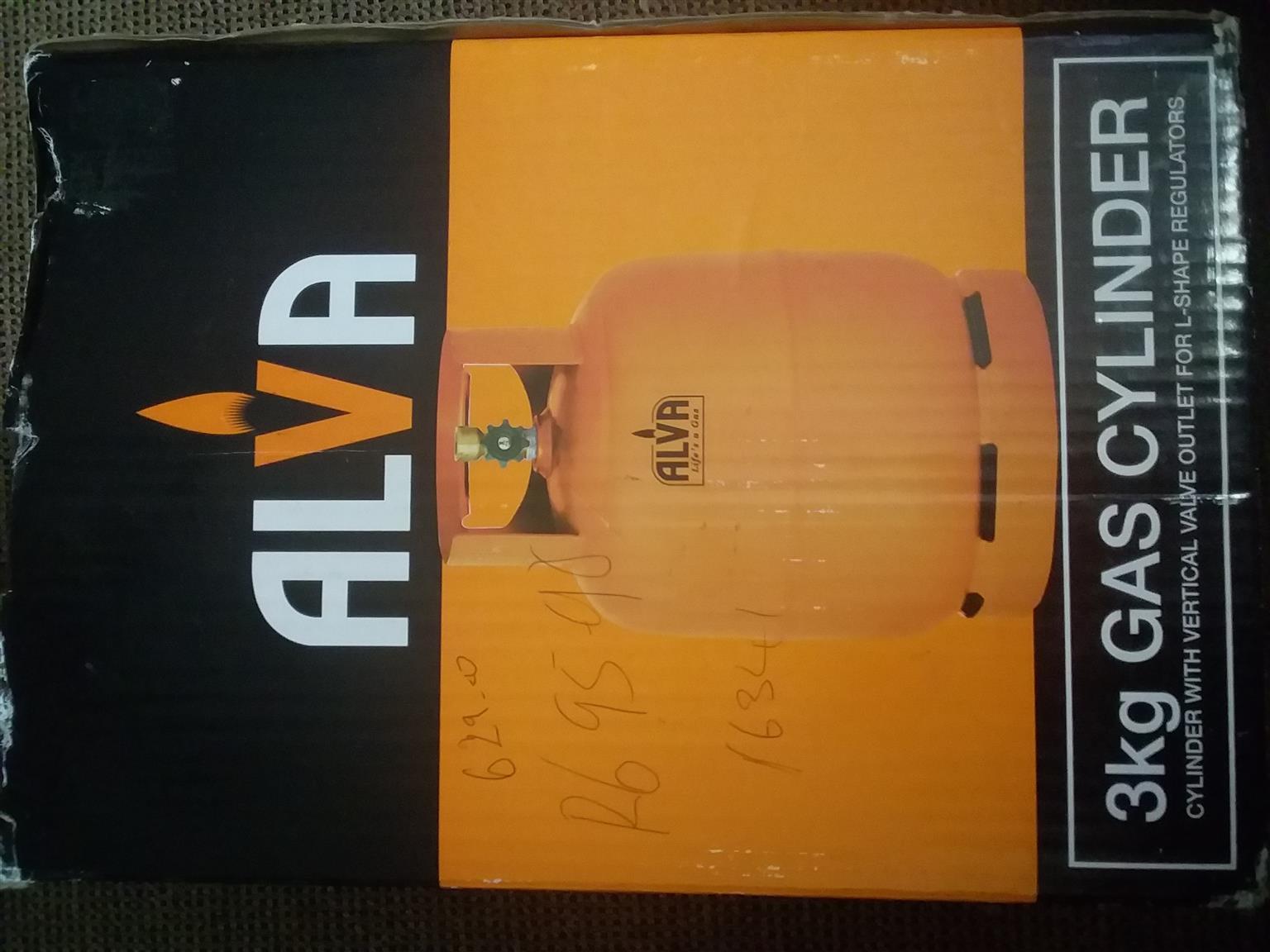 Gas cylinder Alva + ext
