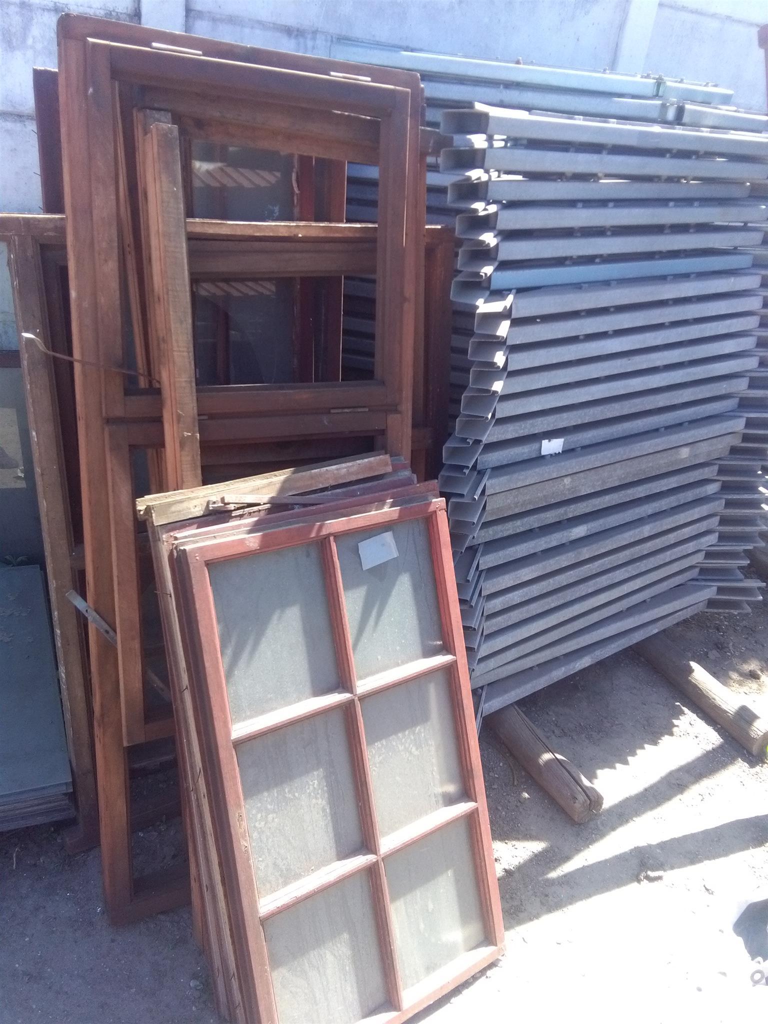 Sliding door window glass and other window frames gets
