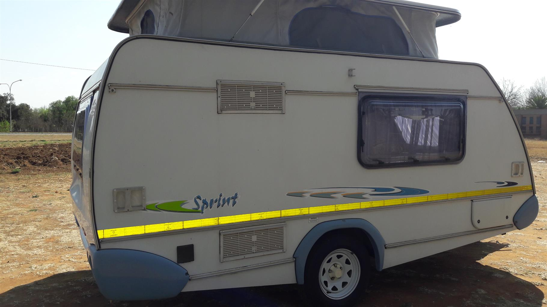 sprite sprint 2009 model with full tent and rally tent in excellent condition must be seen