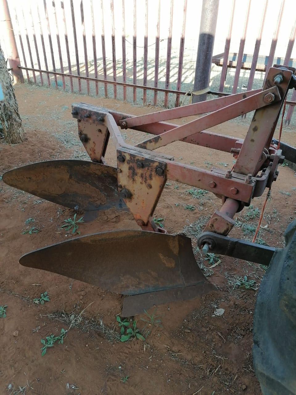 2 Disk plough