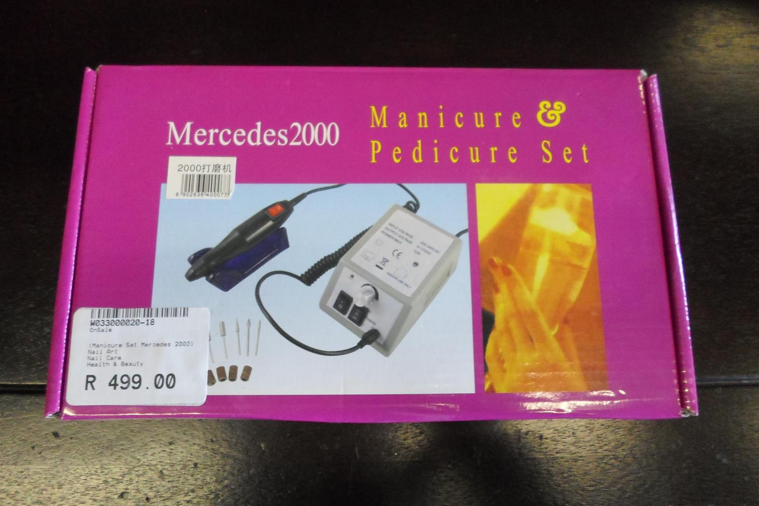 Mercedes 2000 Manicure/Pedicure Set