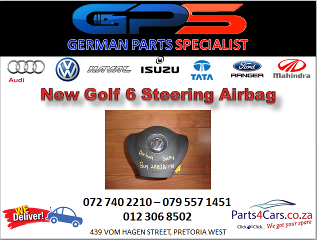 New Golf 6 Steering Airbag for Sale