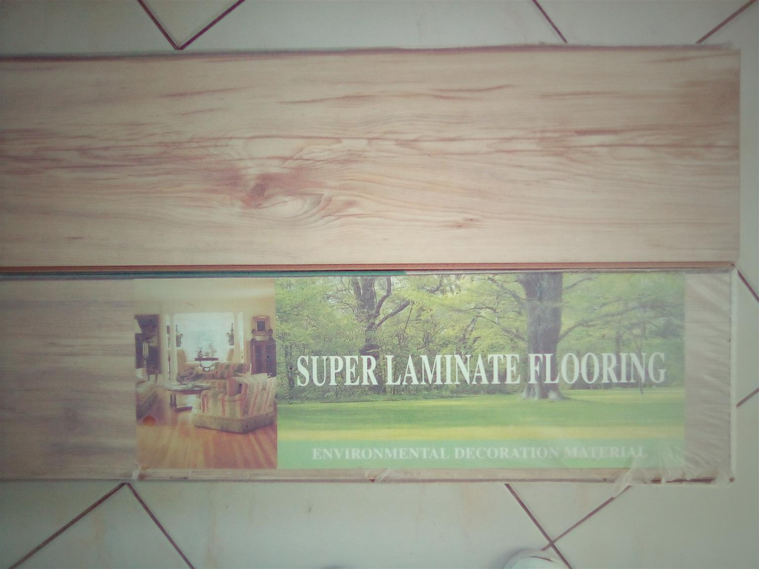 Laminated Flooring Boards & Emboshed Upholstery Fabric for sale