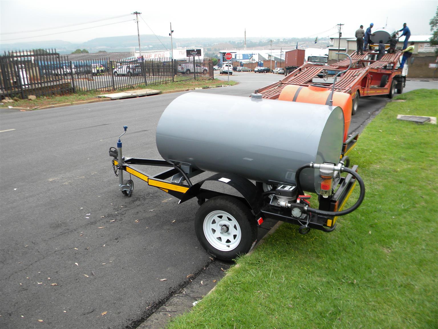 1000 Liters Tanker   Mild or Stainless Steel  