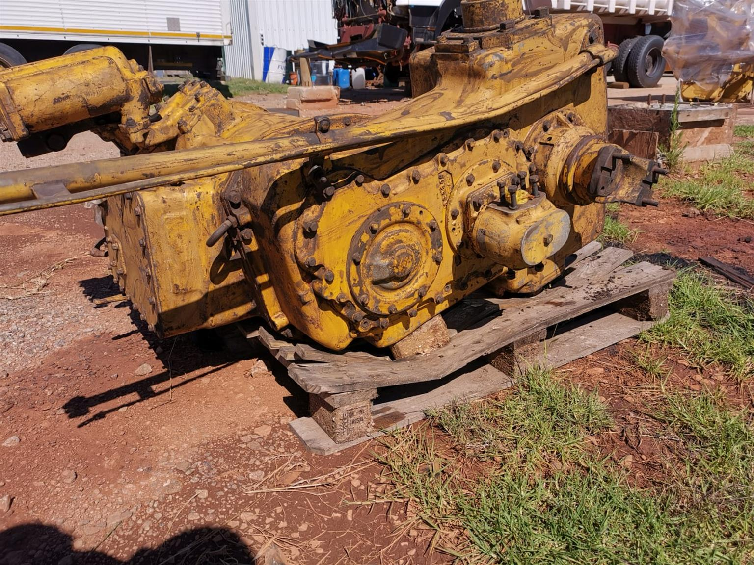 Cat wheel loader 980B transmission