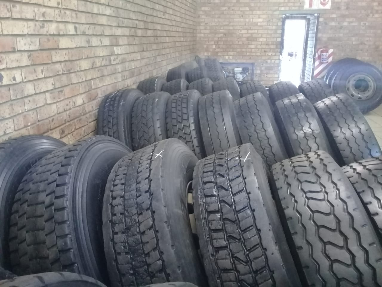 NEW TRUCK TYRES JUST ARRIVED.!!!!!!!!