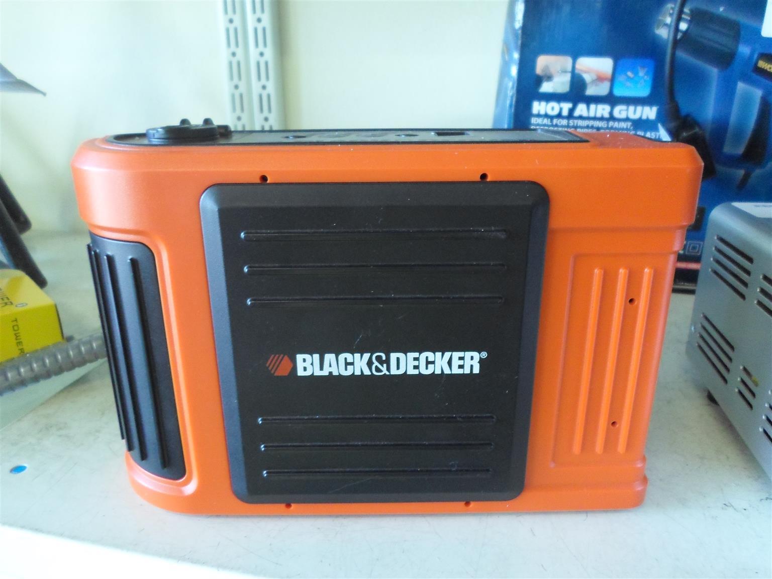 12V Black and Decker Jump Start Kit