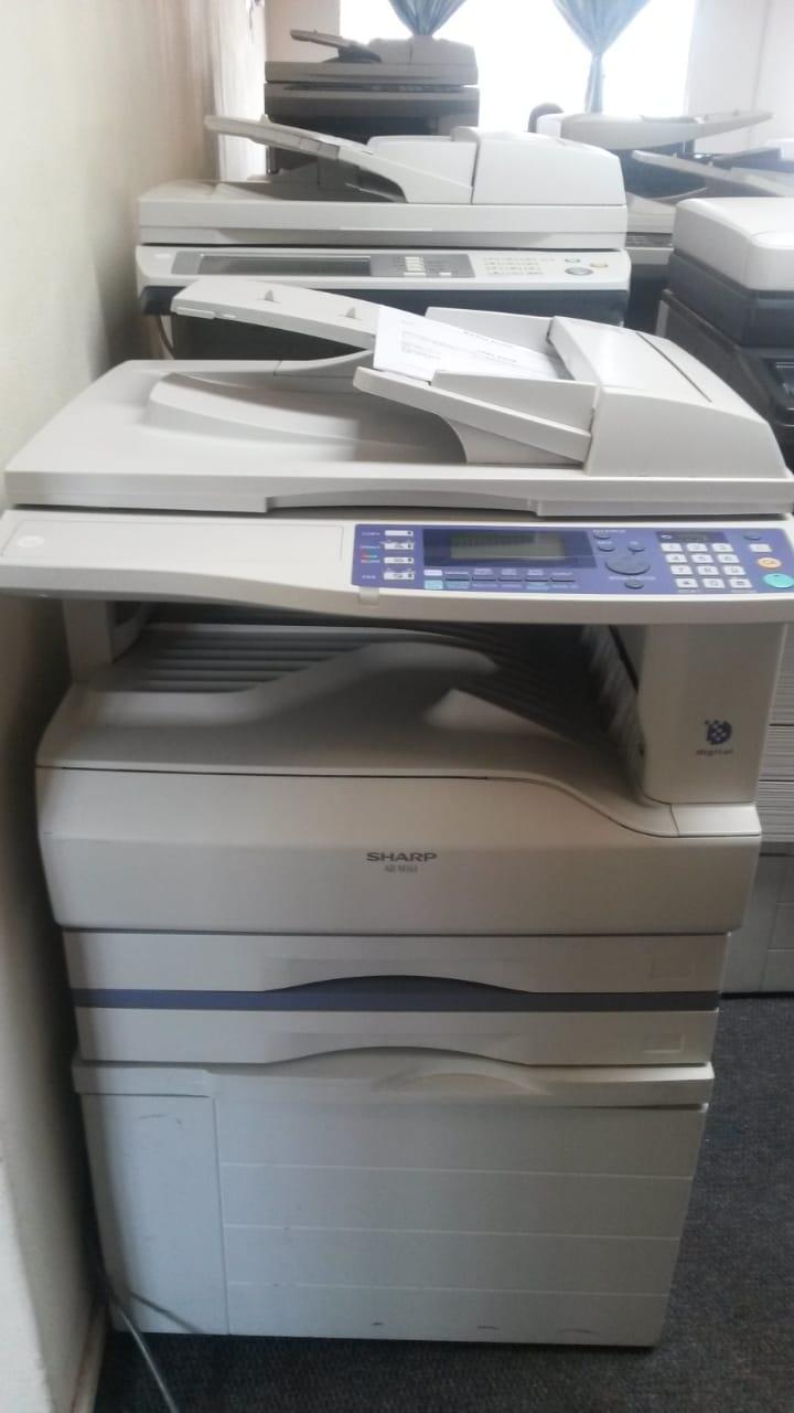 computer box and printers